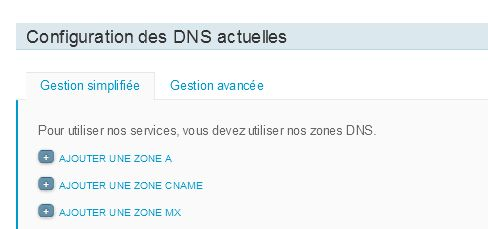 Configuration DNS – Amen