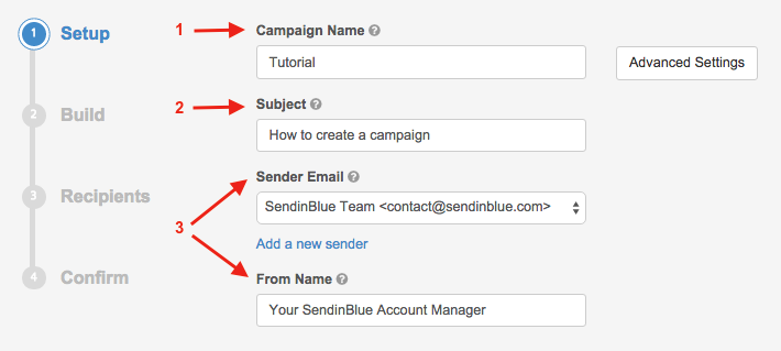Create your email campaign