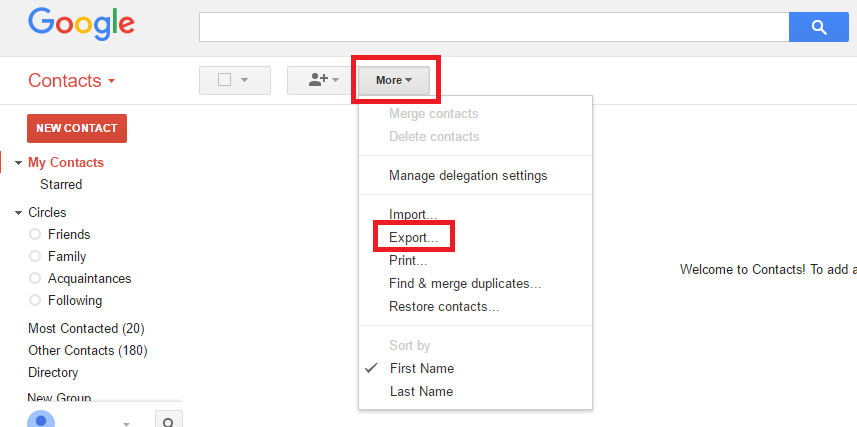 Importing your Gmail/Google contacts into SendinBlue – Sendinblue