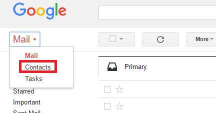 Importing your Gmail/Google contacts into SendinBlue – SendinBlue