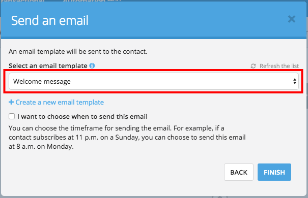 Using Marketing Automation To Welcome Your New Contacts Sendinblue