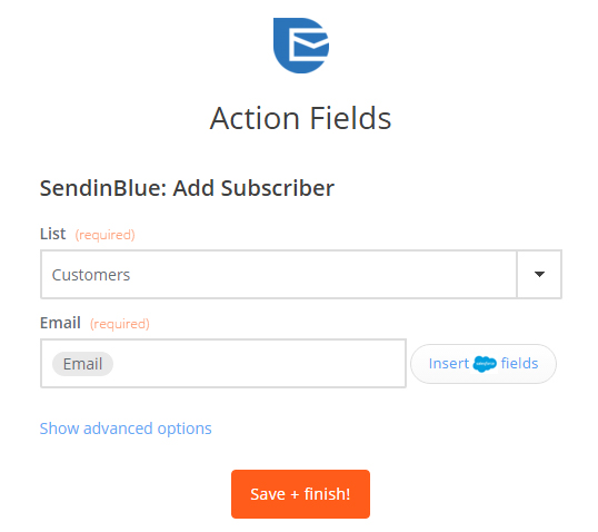 salesforce-zapier-sendinblue