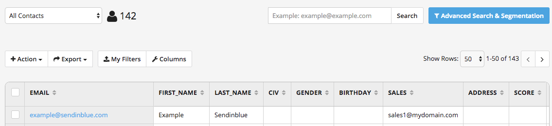 adding a bcc recipient to emails sent via automation sendinblue