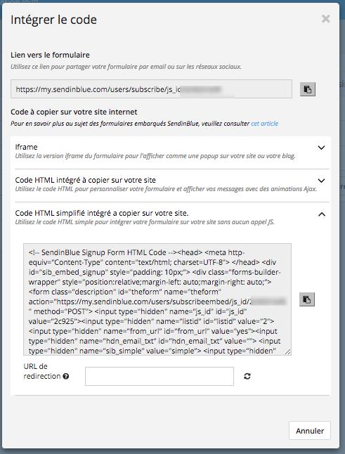 the latest c9a3e 7d59b Important   Le captcha nécessitant un appel en javascript ne peut pas être  inclu dans ce code de formulaire. De plus, une URL de redirection doit ...